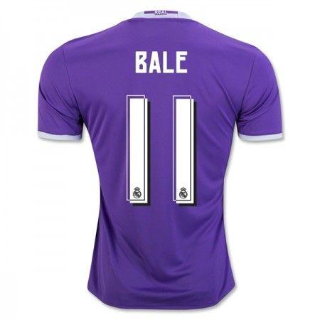 Real Madrid 16-17 Gareth #Bale 11 Udebanesæt Kort ærmer,208,58KR,shirtshopservice@gmail.com