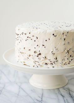 Chocolate Chip Layer Cake