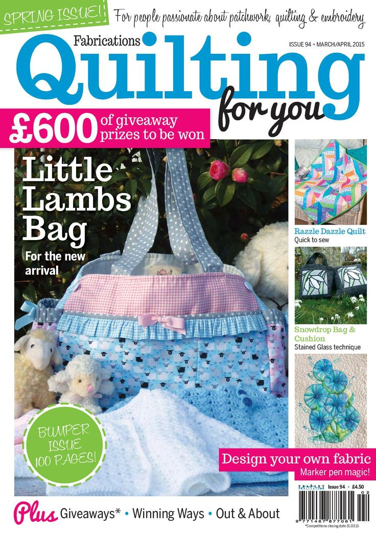QUILTING MARCH/APRIL 2015