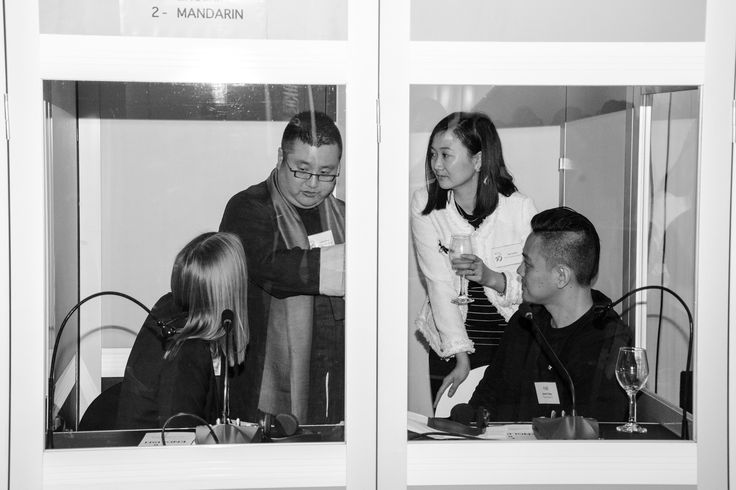 Chin Gala 25th - fun and games in the interpreting booth