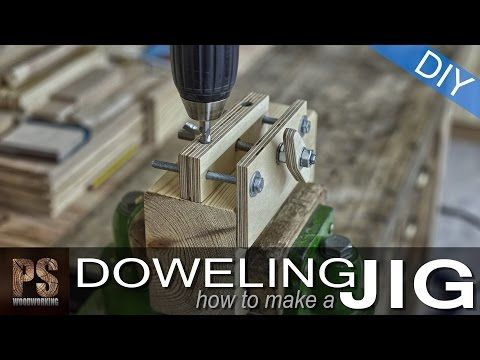 How to make a Doweling Jig - YouTube