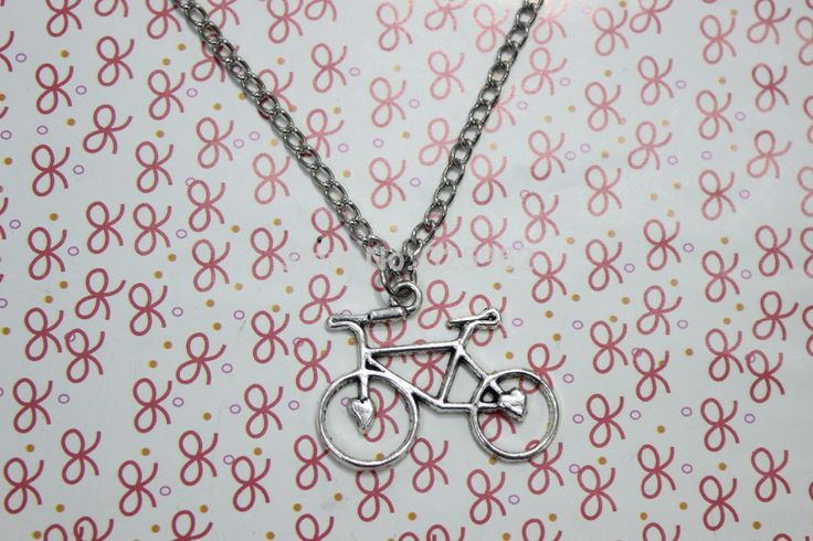 5pcs/lot Antique silver bicycle necklace steampunk gift  //Price: $US $12.00 & FREE Shipping //     #fans #play #playing #player #field #green #grass #score   #goal #action #kick #throw #pass #win #winning
