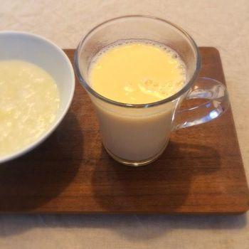 おいしい卵酒をつくるポイントは「よく混ぜる」ことと「日本酒の注ぎ方」です。焦ってつくってしまうと失敗の原因になります。ゆっくりと、ていねいに作るのがコツです。