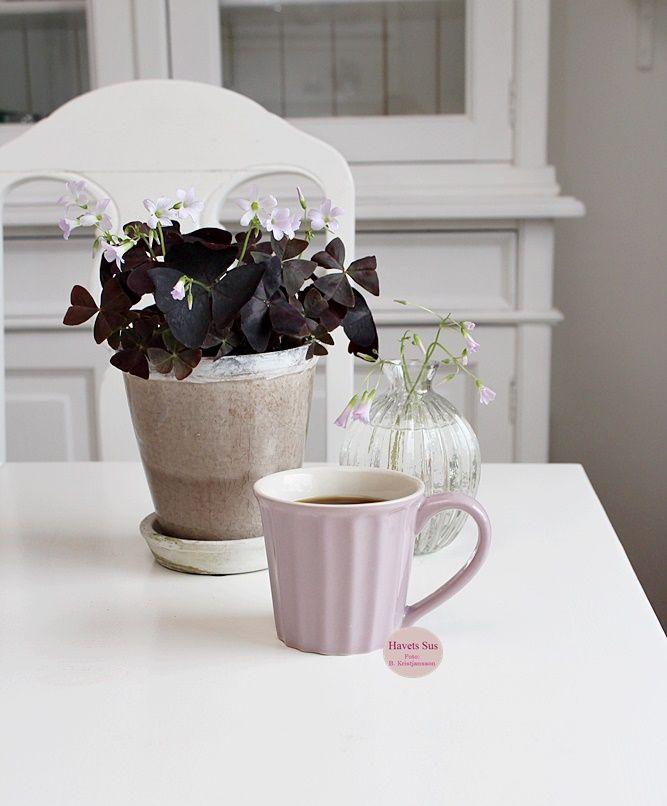 Ib Laursen - mynte - mynteporcelæn - vase - kløverblomst - flowers - flower - blomst - havetssus - havets sus