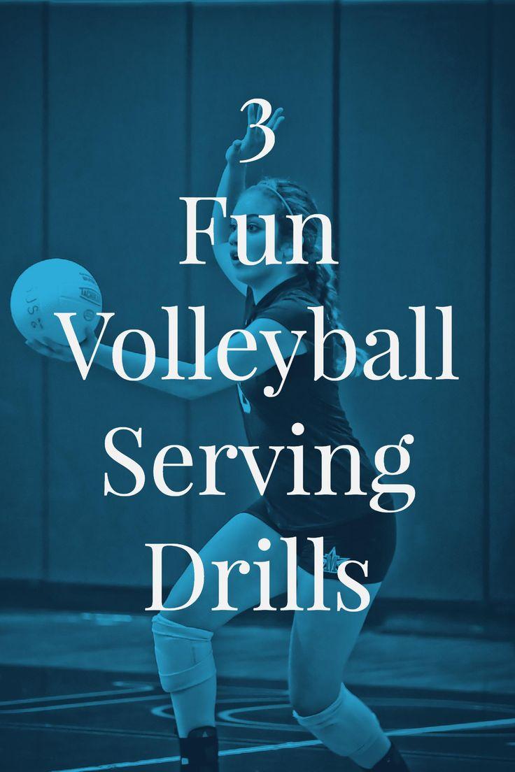 3 Effective, Fun Volleyball Serving Drills