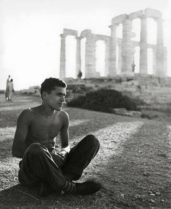 Σούνιο,Ναός του Ποσειδώνα,1949..φωτ.Herbert List