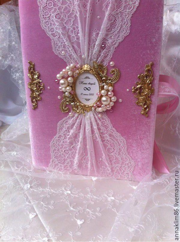 """Купить Фотоальбом """"Розовый сон"""" - свадебный альбом, альбом для девочки, детский альбом, подарок на свадьбу"""