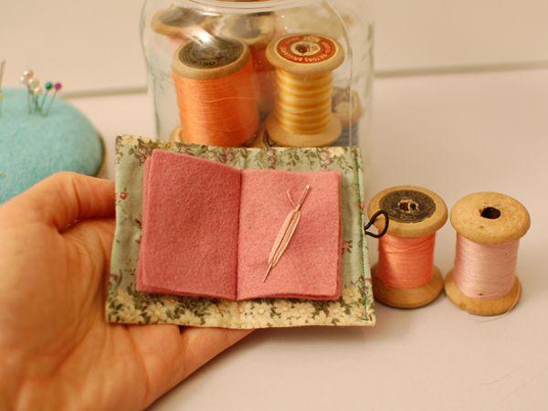 DIY-guarda-agujas ❥Teresa Restegui http://www.pinterest.com/teretegui/❥