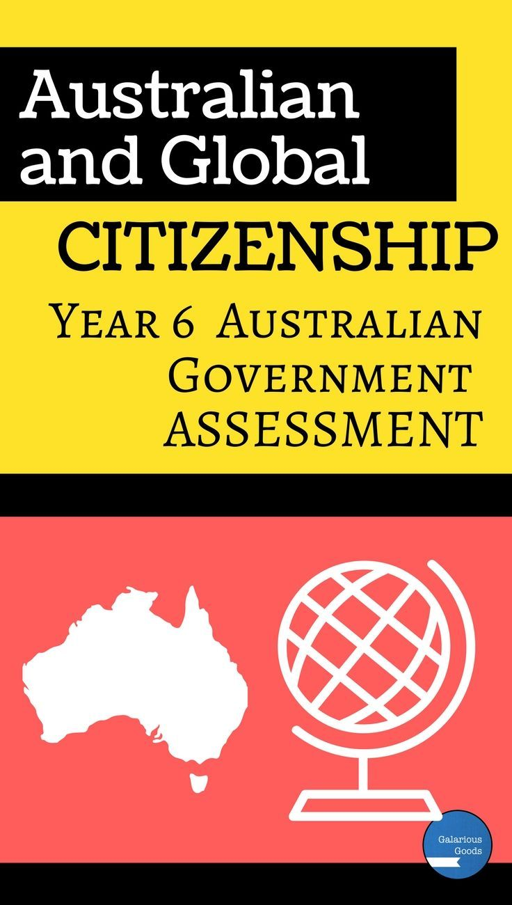 Assess the knowledge and understanding of your Year 6 Class with this Australian Civics and Government Assessment pack. It includes a test and two assessment (assignment) tasks covering Australian and Global citizenship. Aligned with the Australian curriculum and perfect for the Year 6 HASS classroom