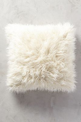 Shag Puff Pillow