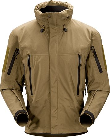 Alpha Jacket Men's Lightweight, waterproof and compressible GORE-TEX® jacket specifically engineered for military and law enforcement applic...