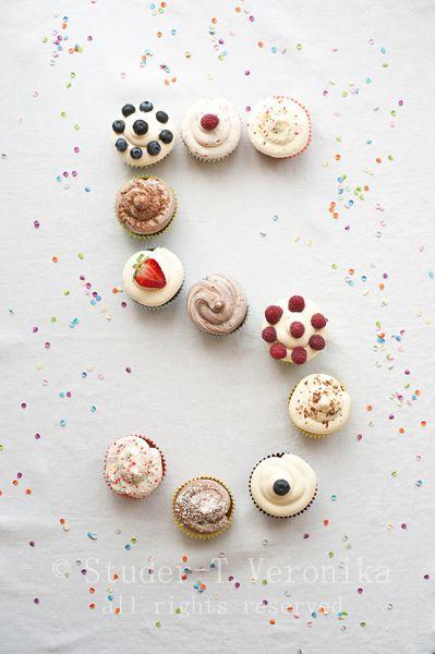 Birthday cupcakes by StuderV, via Flickr: Birthday Cupcake Cake, Cupcakes Cake, Cupcake Recipe, Birthday Cupcake Decoration, Cupcakes Recipe, Birthday Cake Recipe, Birthday Cupcakes