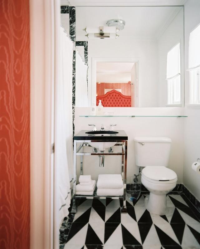 Bathroom at the Avalon