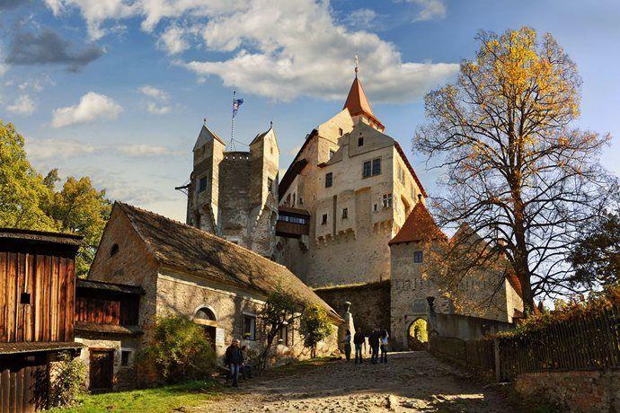 Pohádkový hrad Pernštejn