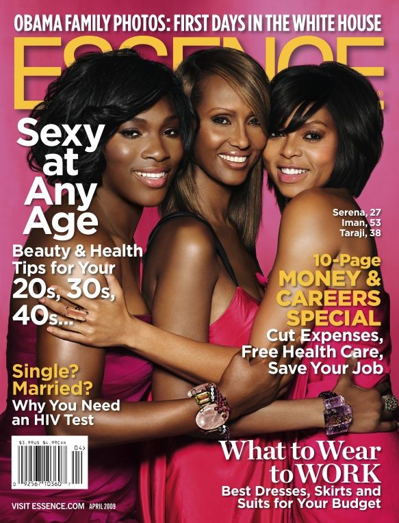 Essence Magazine Covers | ... Cover: Did Essence Copy Glamour Magazine's Annual Age Issue Cover