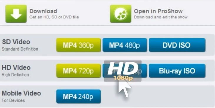 Create Editable HD Video Slideshows with ProSho...
