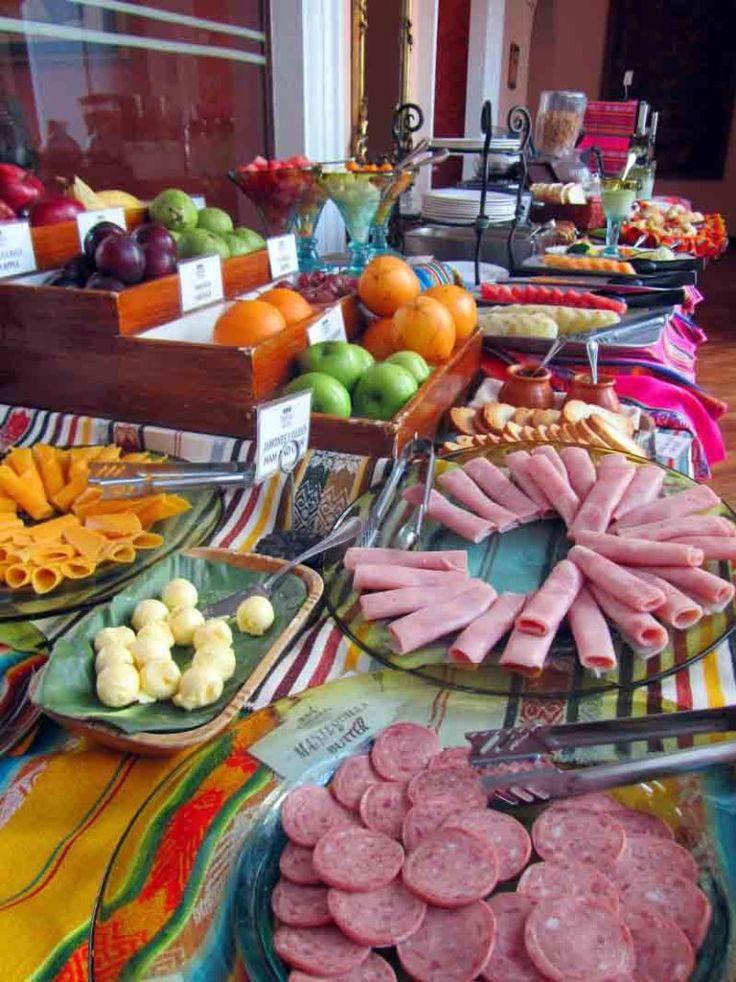 Desayuno buffet del @Hotel Patio Andaluz de #quito, #ecuador  Breakfast buffet in Ecuador