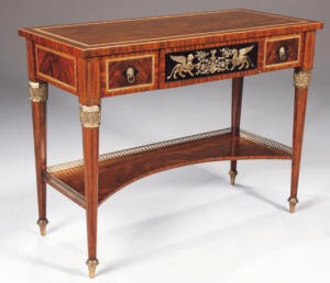 Maitland Smith Console table - this is a lovely piece of furniture.Maitlandsmith