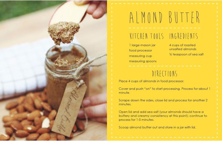 Pick of the Week: Nuts & Almond Butter Recipe Move Nourish Believe