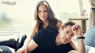 Robert & Susan Downey, fun and funny couple who are expecting soon.