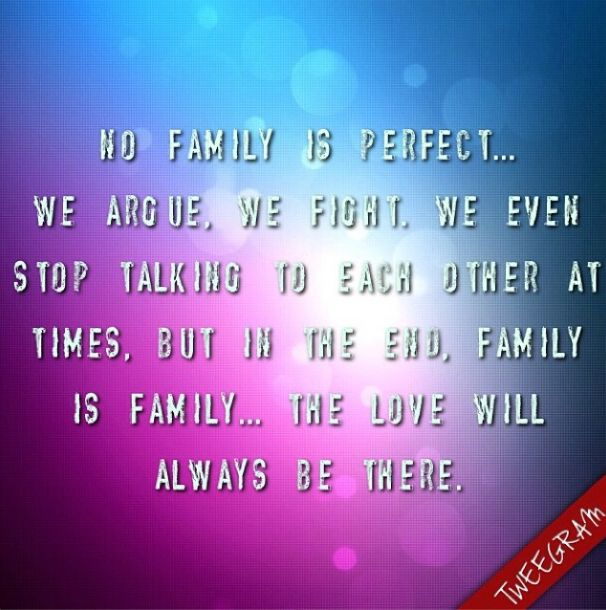 Quotes About Perfect Family Daily Inspiration Quotes