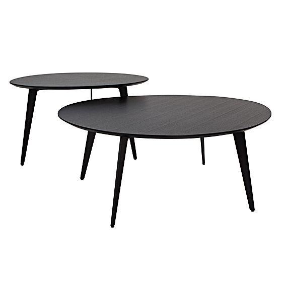 Best Heston Black Oak Coffee Table By Sydneyside Living Room 640 x 480