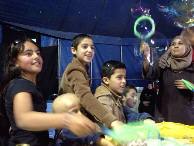 Day of hope for Palestinian children with cancer