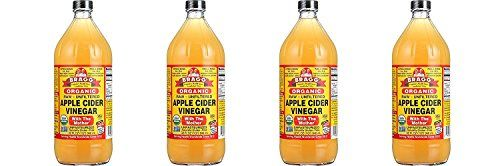 Bragg Organic Raw Unfiltered Apple Cider Vinegar With The Mother 4 Quarts or 1 Gal (when available)