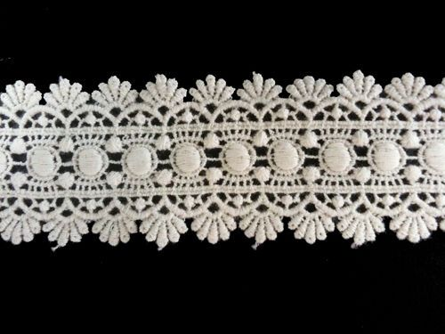 Sewing Material for Clothes Cotton Chemical Motive Lace (007) 1yard   #KoreaDesignerShop