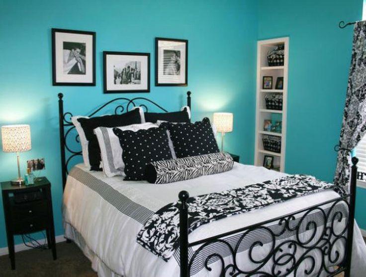 Glamorous Skyblue Blue Black Bedroom Ideas Furniture Walls Teenage Girls  Room Colors Insight Pleasant Sofa