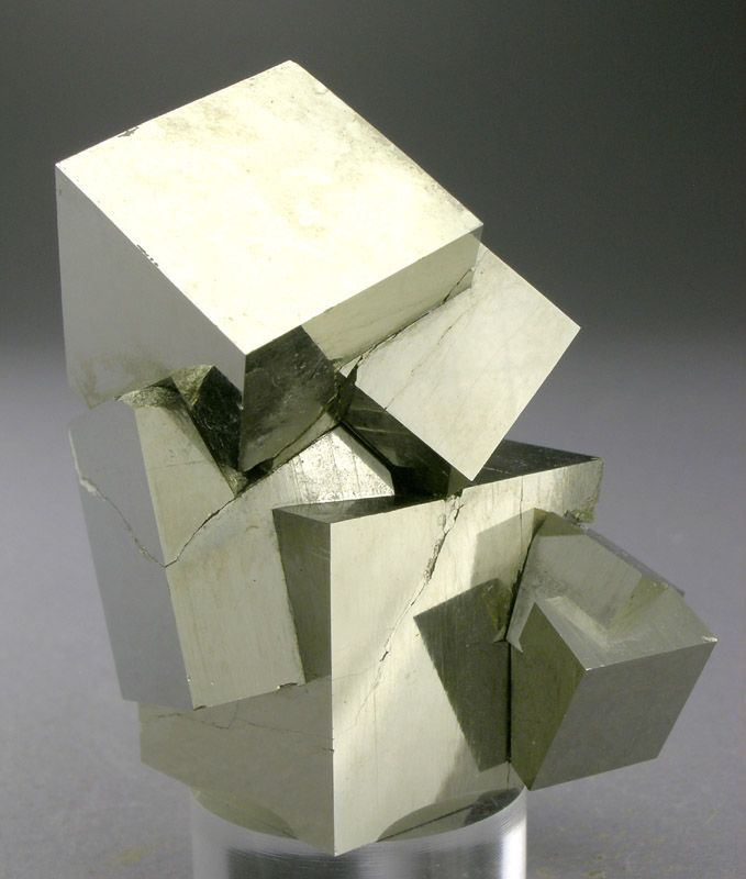 cubic pyrite from larameeee