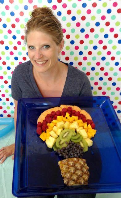 Balloon Fruit platter