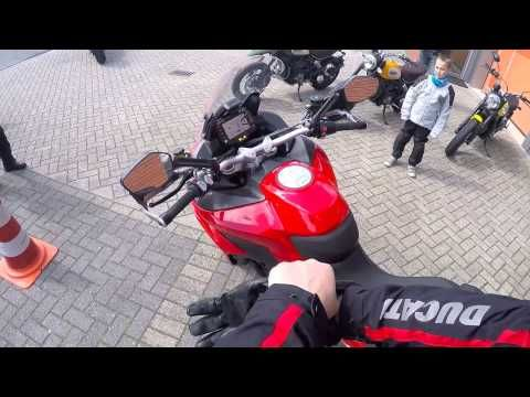 2015 Ducati Multistrada 1200S DVT - Quick Pit Stop - YouTube