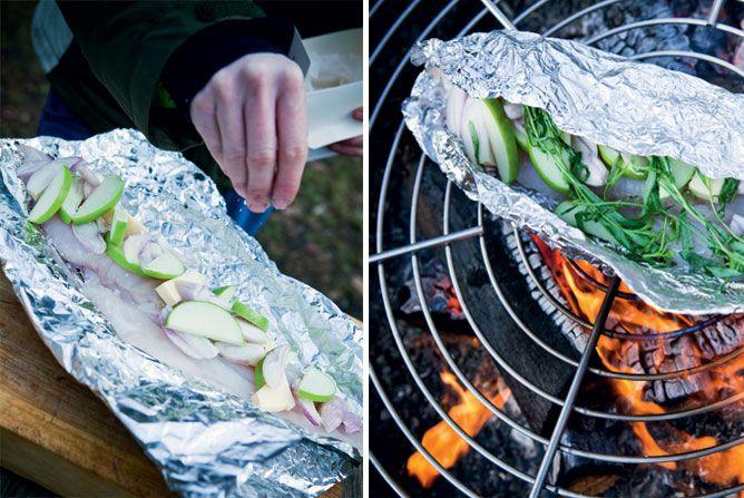 Helt i skoven - mad på bål! - Gastro
