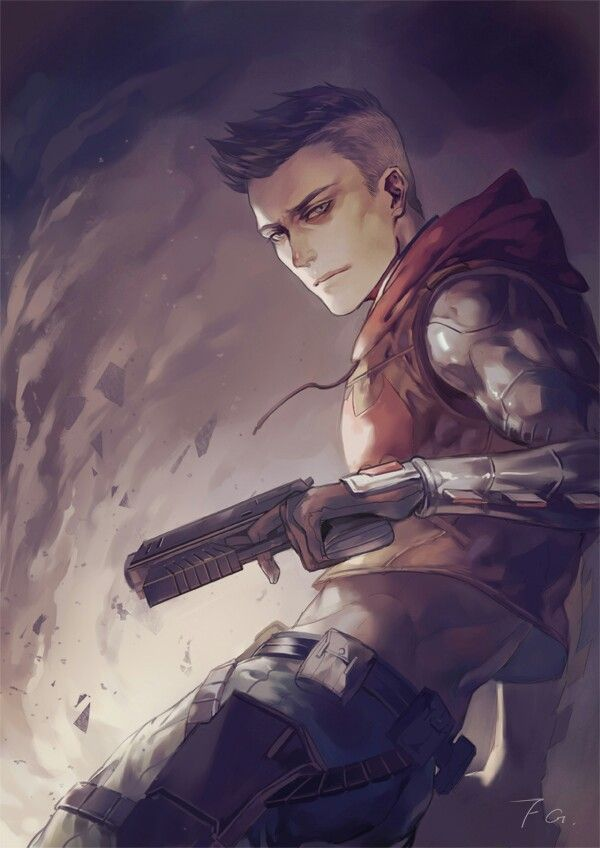 Found this on tumblr.  #red hood #jason todd