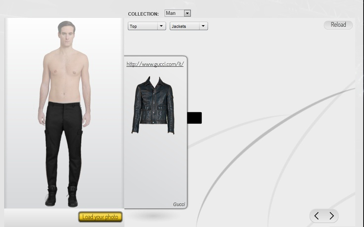 Open your own virtual store  Use our web application to set up a virtual store where people can try your clothes on in a realistic way.