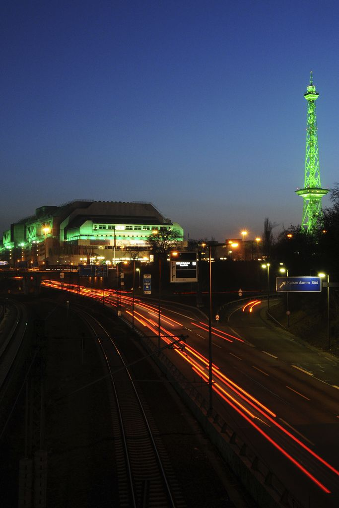 ICC and Funkturm, Berlin   by Ron Gilmore