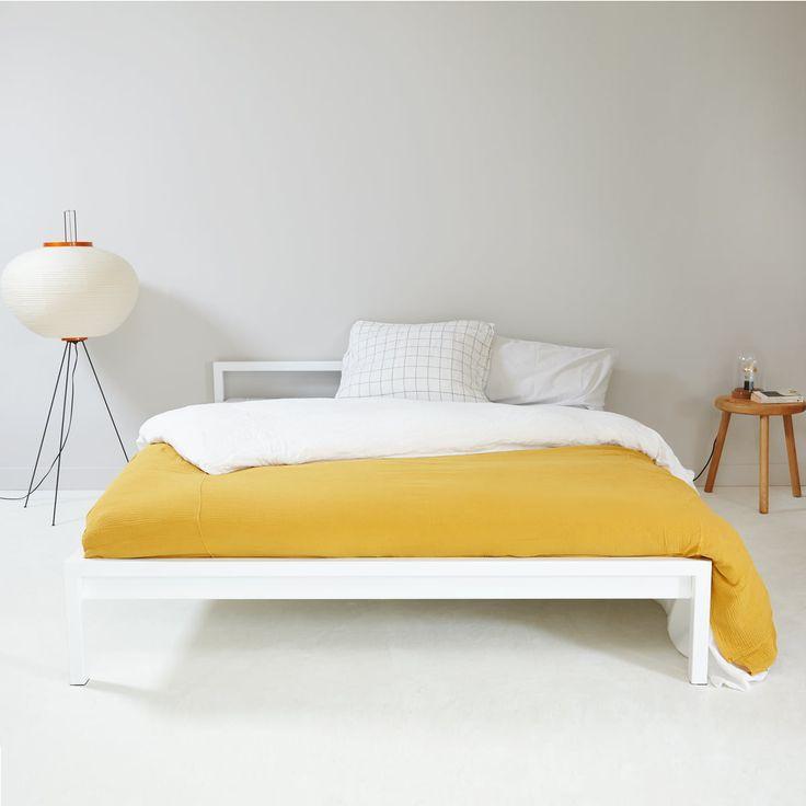 Hans Hansen Pure Bett 140 cm, weiß in 2020 Bett holz