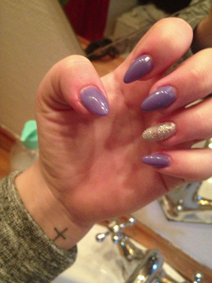 _ Mine jule og nytårs negle fra sidste år, lavet af akryl, så lækre!
