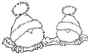 pajaros, rama. en la web estan los mismo pero por separado, tambien unos pajaros con cuernos de reno de navidad muy monos.