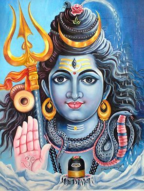 My Painting... Lord Shiva