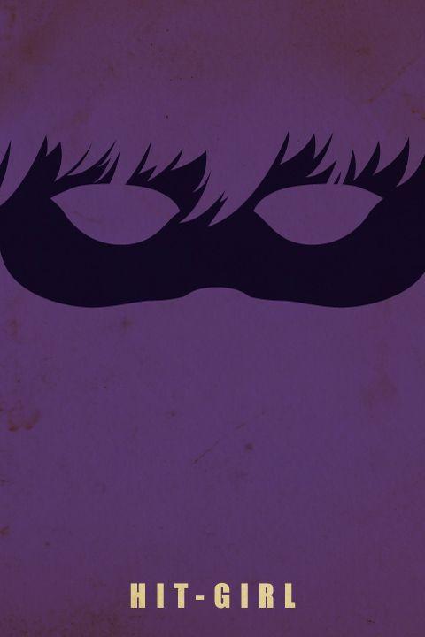 Cine] Ocho pósters minimalistas de Kick-Ass 2. Con un par y ...