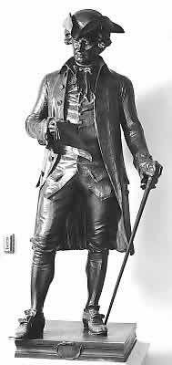 John Hanson - 1st president under the articles of Confederation.