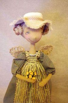 Тряпичные куклы и способы экологического окрашивания ткани (кофе/марганец/чай/куркума)