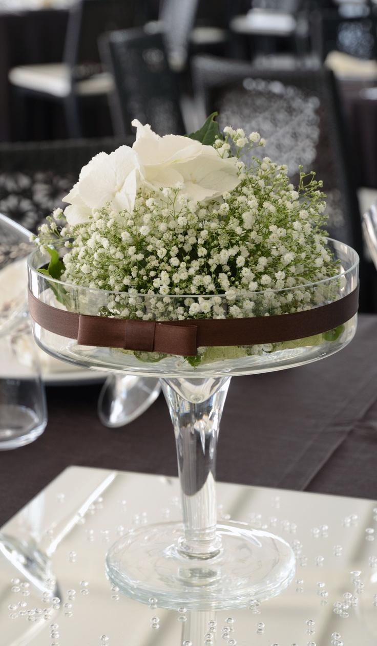 Il centro tavola per il tuo moka wedding.  ............................................................  Attimi di un amore.  www.royalpaestum.it  Wedding in Paestum  www.amatelier.com