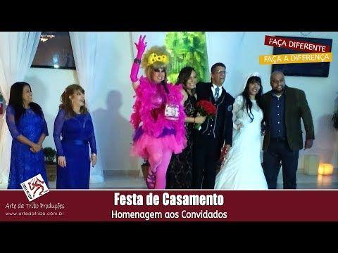 Arte da Tribo - Animação de Festas e Eventos - Casamento - Homenagem aos...