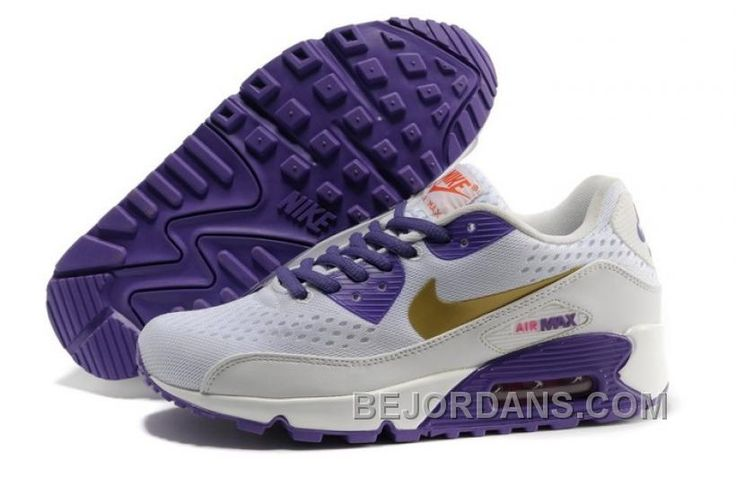 Best Drop Shipping Nike Air Max 90 EM Womens running shoes White pink purple[553564