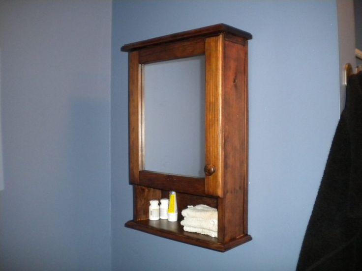 Die besten 25+ Wood medicine cabinets Ideen auf Pinterest ...