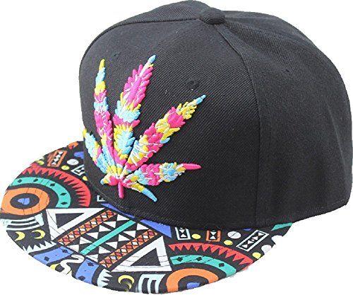 YOXO Hip Pop Marijuana Weed Green Snapback Cap Hat Men Baseball Cap - Weedyeah!
