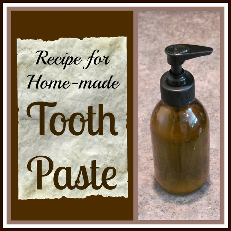 Homemade Tooth Paste that will remineralize teeth